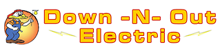 Down -N- Out Electric Logo